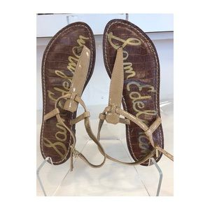 Sam Edelman patent leather Gigi sandal